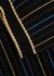 Striped metallic-knit wool-blend top - Gucci