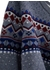 Fair isle wool and cotton crew neck sweater - Hackett