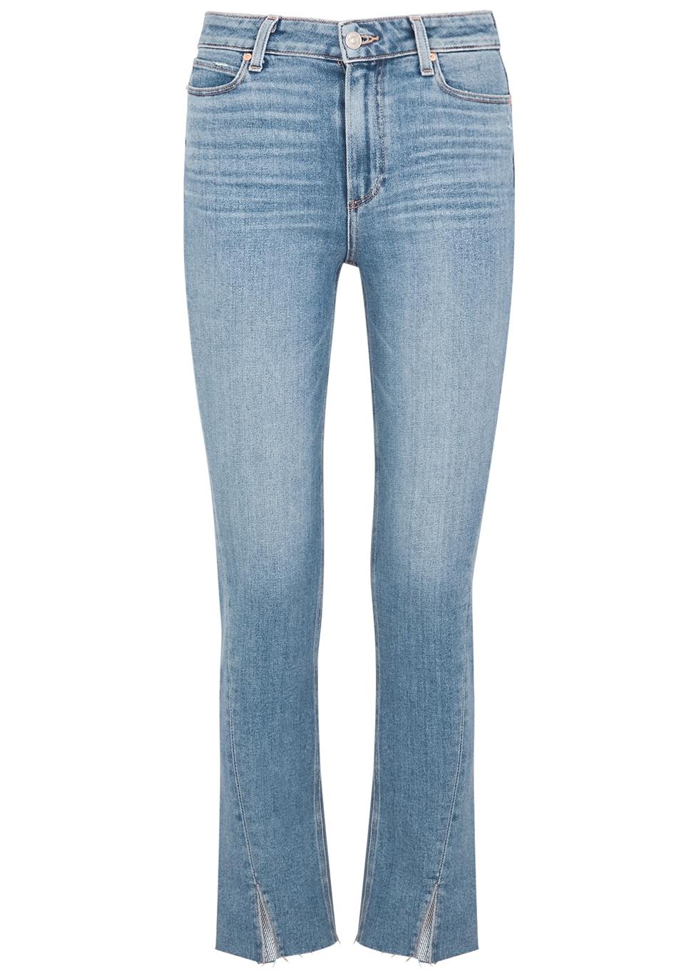 Hoxton blue slim-leg jeans