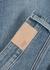 Hoxton blue slim-leg jeans - Paige
