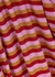 Tuba striped metallic-weave top - Mads Nørgaard