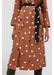 Ginger painted spot silk dress - Chinti & Parker