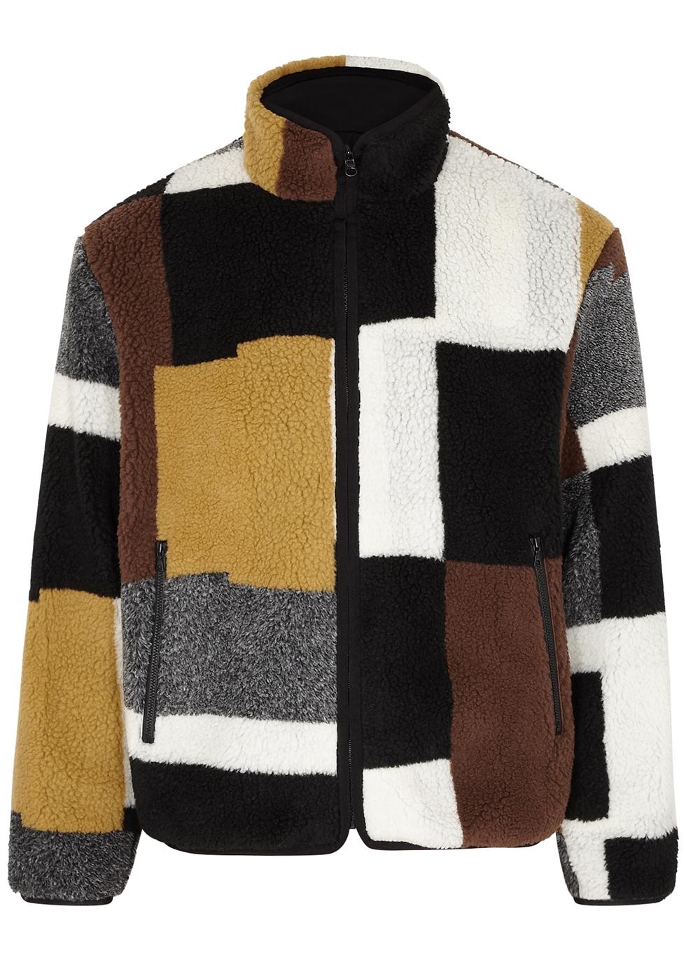 Colour-blocked PolarFleece®️ jacket