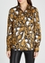 Lori leopard-jacquard satin blouse - Gestuz