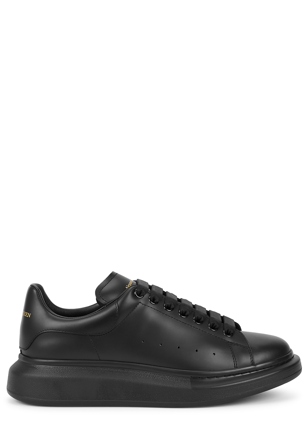 Larry black leather sneakers