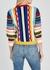 Zelma ribbed-knit wool-blend jumper - Alice + Olivia