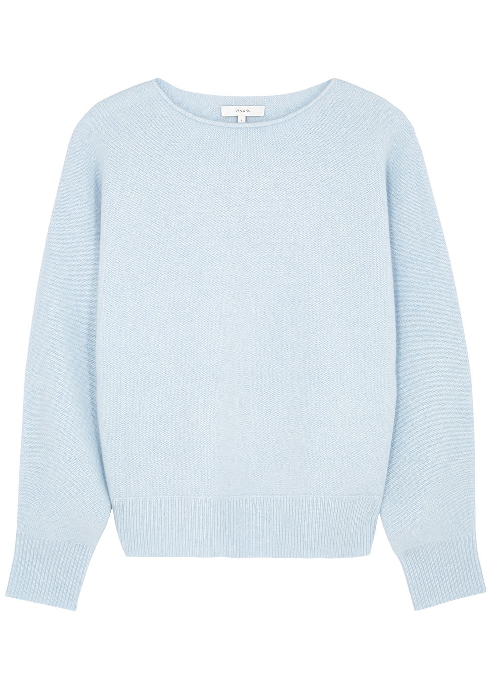 Light blue cashmere jumper