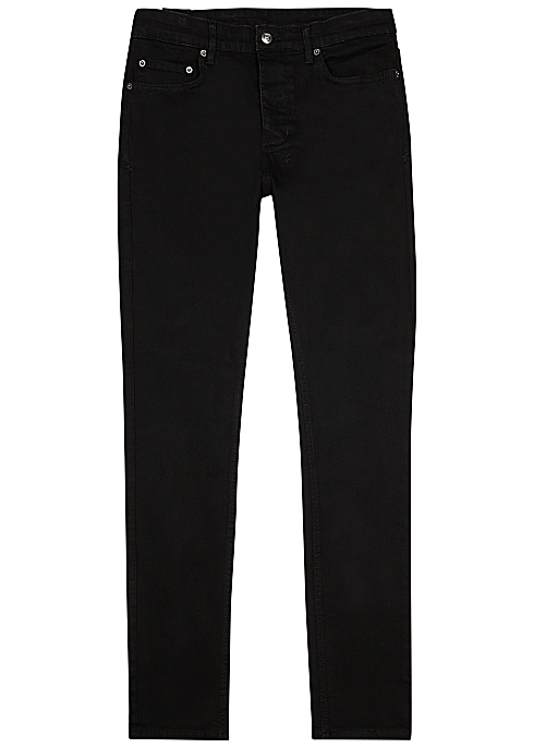 KSUBI Chitch black slim-leg jeans