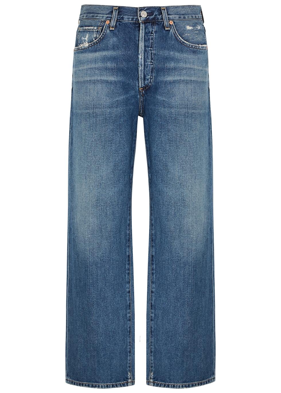 Joanna blue wide-leg jeans