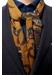 Yellow fine wool scarf - Eton