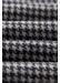 Navy houndstooth wool scarf - Eton