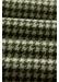 Green houndstooth wool scarf - Eton