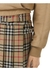 Vintage check wool twill kilt - Burberry