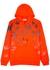Swallow-print hooded cotton sweatshirt - McQ Alexander McQueen