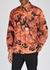 Orange camouflage-print cotton jacket - McQ Alexander McQueen