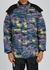 Printed reversible shell coat - Billionaire Boys Club