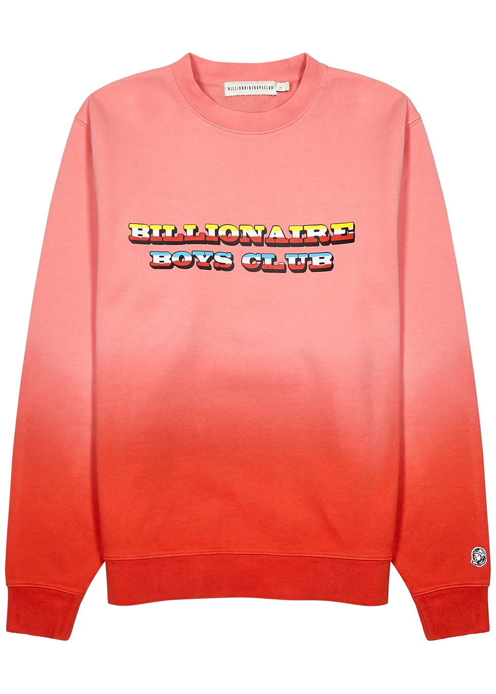 Dip Dye printed cotton-jersey sweatshirt