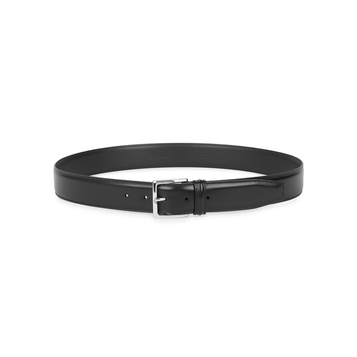 Anderson's Black Leather Belt