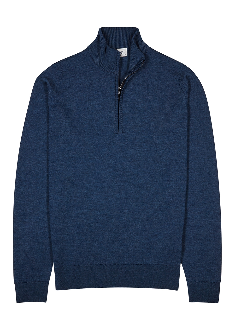 Tapton navy wool jumper