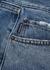 Blue cropped straight-leg jeans - Balenciaga