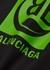 Black logo cotton shirt - Balenciaga
