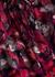 Lilian floral-print georgette blouse - Diane von Furstenberg