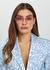 Fawcet 22kt gold-plated hexagon-frame sunglasses - Linda Farrow Luxe