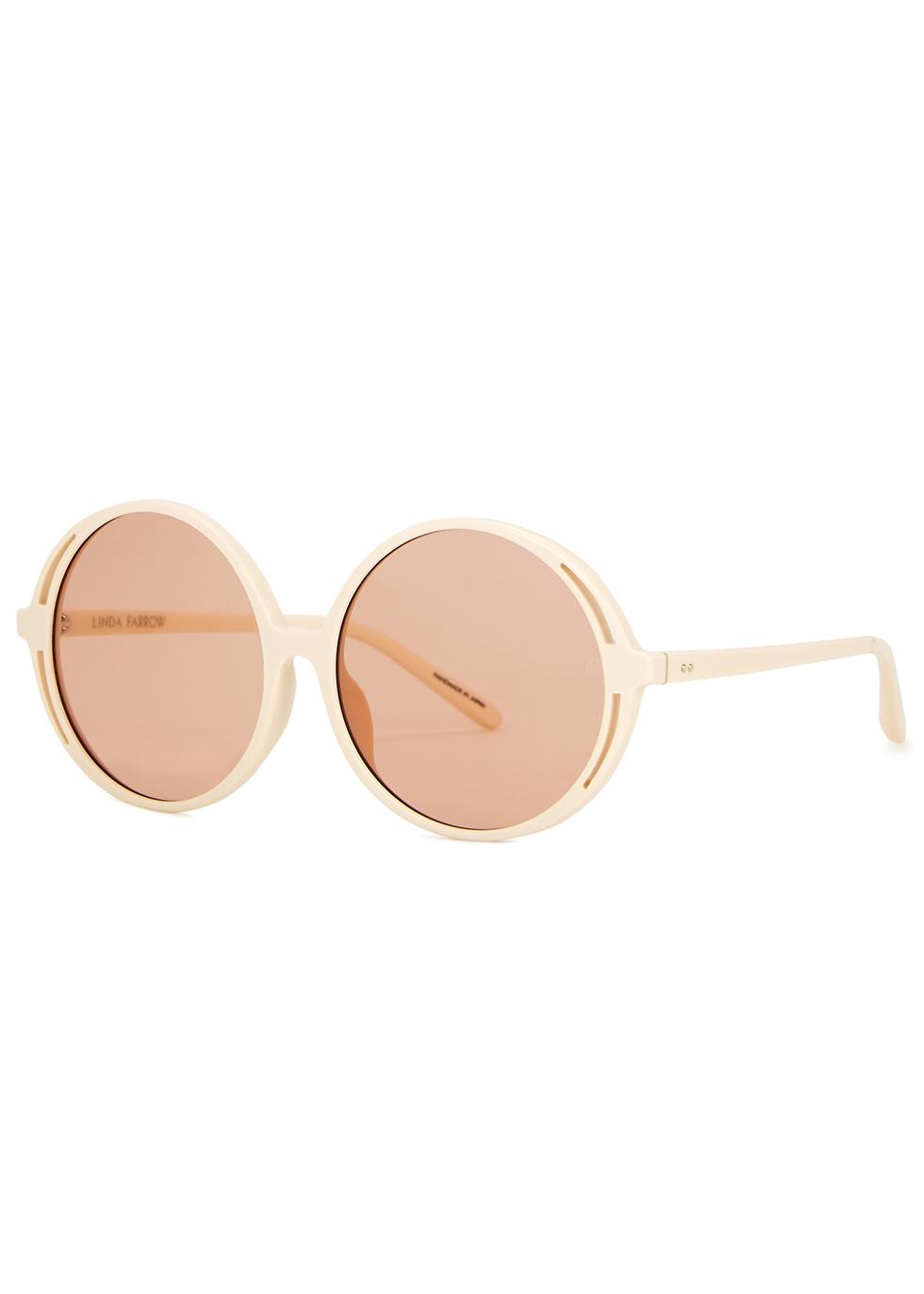 Bianca round-frame sunglasses