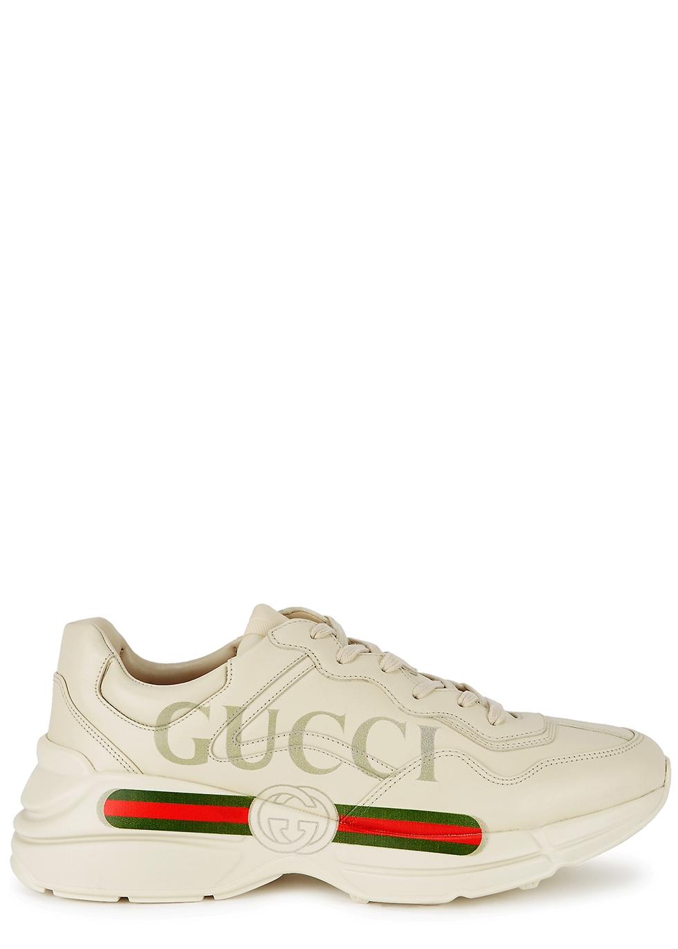 leather sneakers - Harvey Nichols