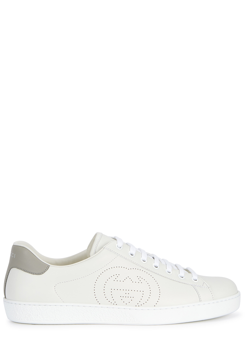 Ace white leather sneakers