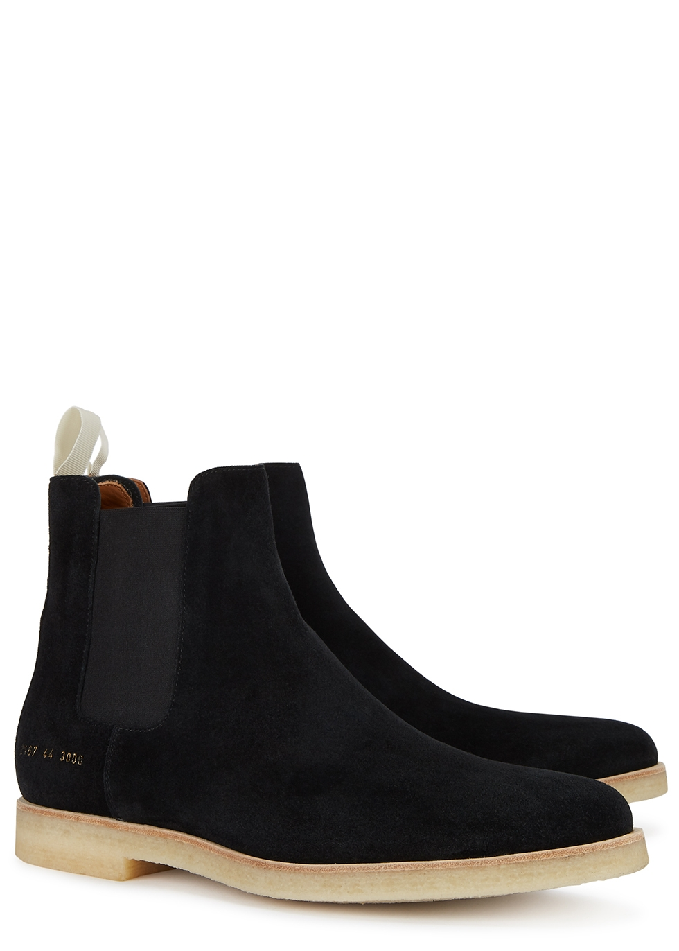 Common Projects Black brushed suede