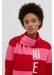 Red stripe ski scarf - Chinti & Parker
