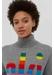 Grey cashmere roll neck ski sweater - Chinti & Parker