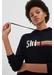 Navy ski stripe wool-cashmere hoodie - Chinti & Parker