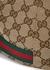 GG Supreme monogrammed canvas cap - Gucci