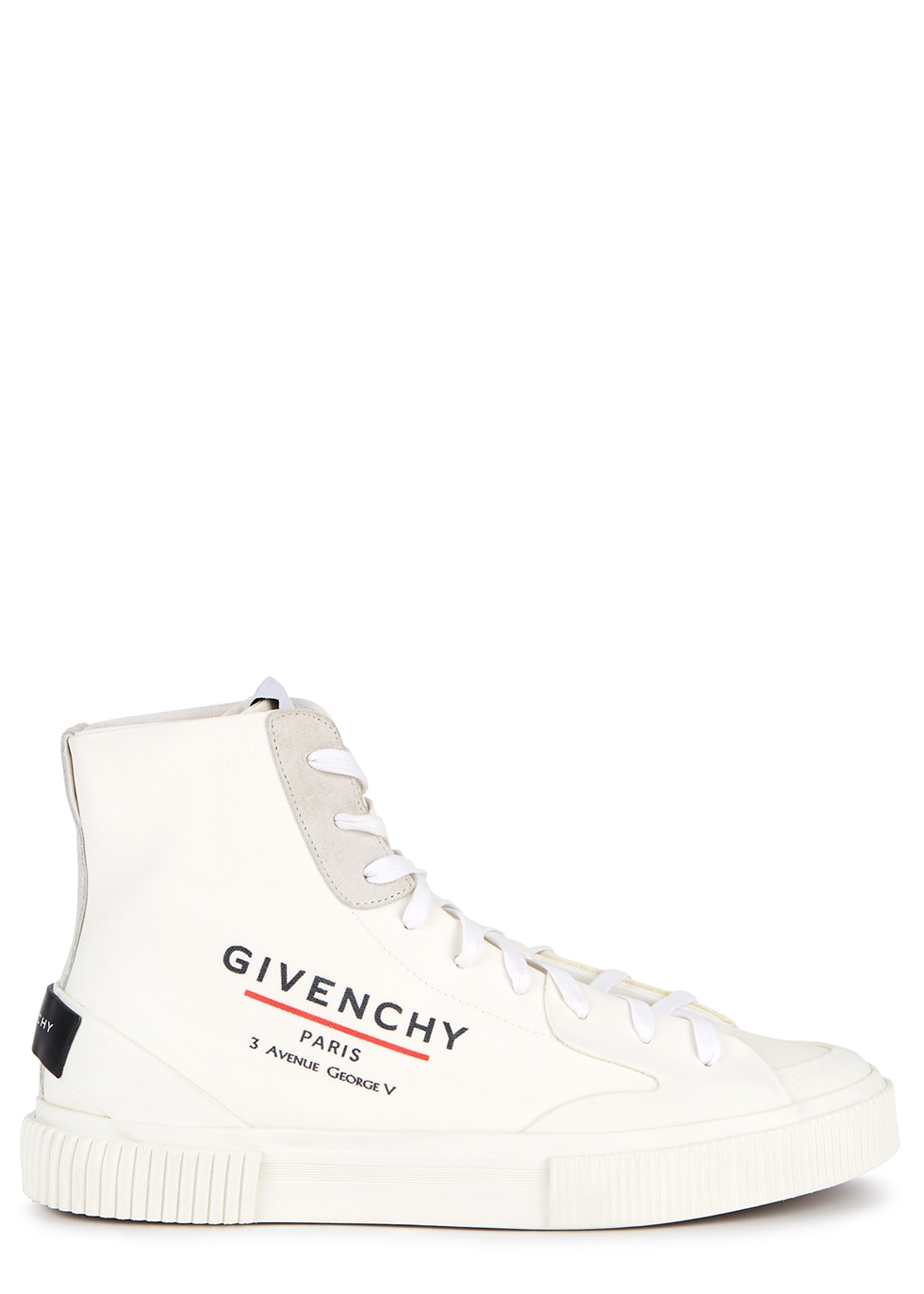 Givenchy Tennis off-white coated canvas