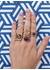 Diamond hardware ring - Rosa De La Cruz