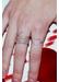 10mm heart charm ring - Rosa De La Cruz