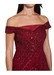 Beaded off shoulder gown - Adrianna Papell
