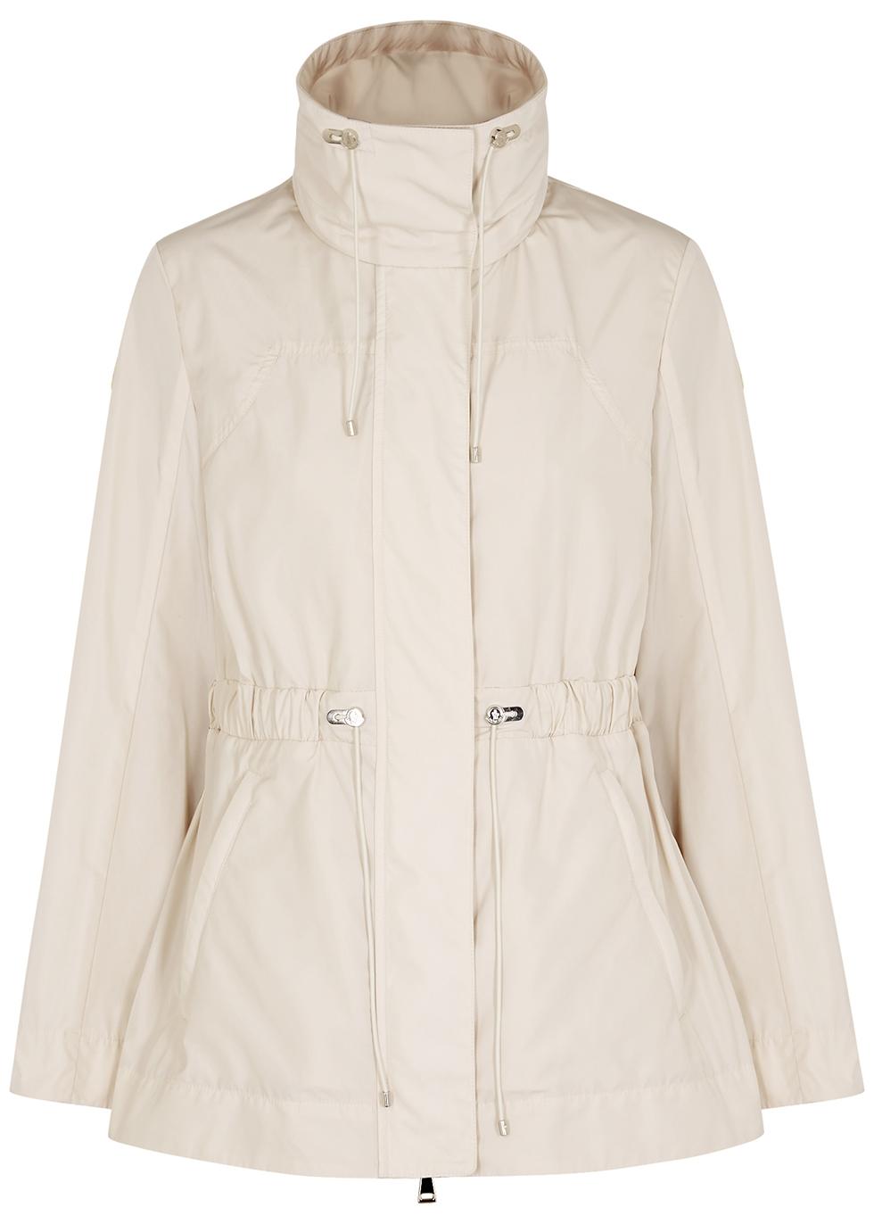 Ocre cream shell jacket