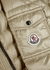 Menthe stone quilted shell jacket - Moncler