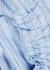 Blue striped cotton shirt dress - JW Anderson