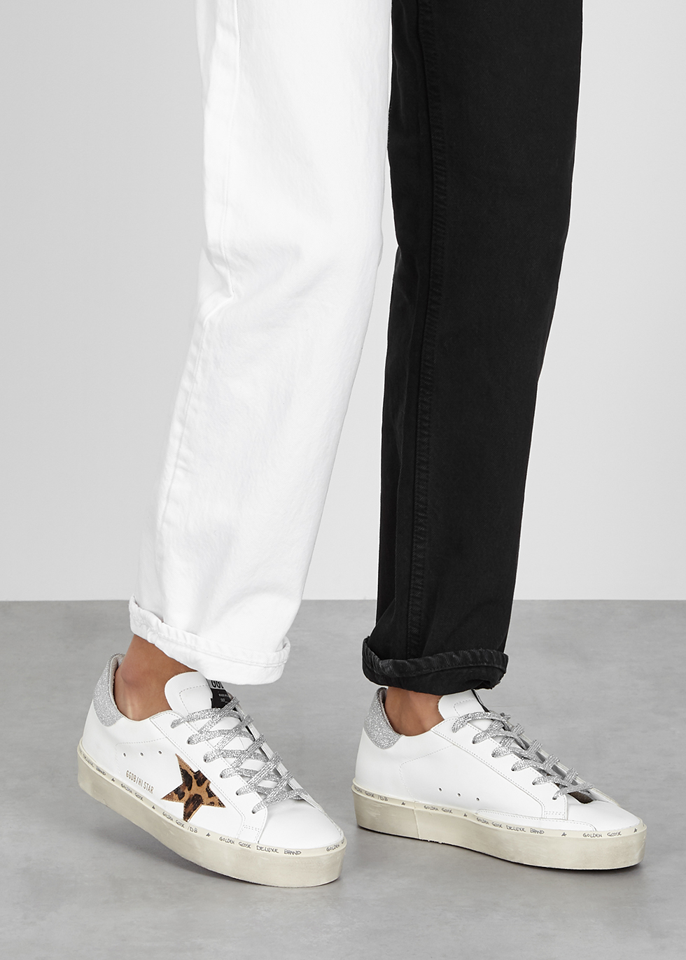 Golden Goose Deluxe Brand Hi Star white