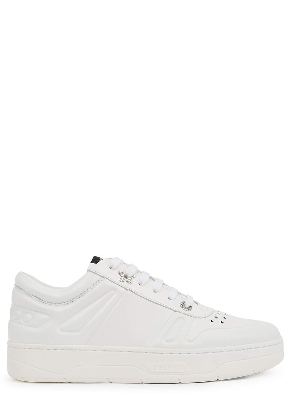 Hawaii/F white leather sneakers