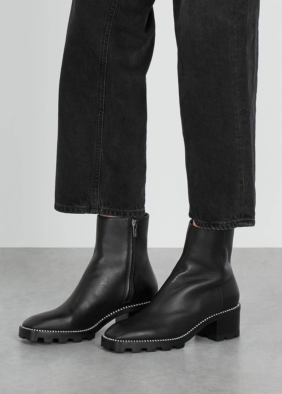 Jimmy Choo Mava 50 embellished leather