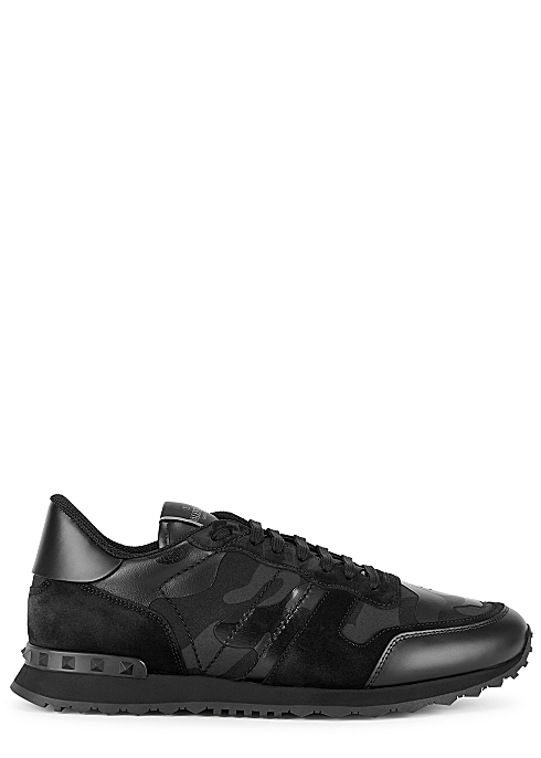 VALENTINO Rockrunner camouflage-print sneakers