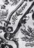 Monchrome printed cotton bandana - Alexander McQueen