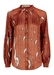 Silence long sleeved shirt in rust red - Traffic People