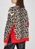Leopard-intarsia stretch-knit jumper - Stella McCartney
