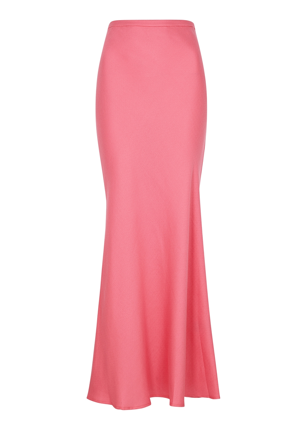Shine Bright pink maxi skirt